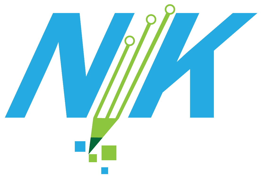 Nick Kusters Custom Software Solutions (NKCSS) Logo (NK only)