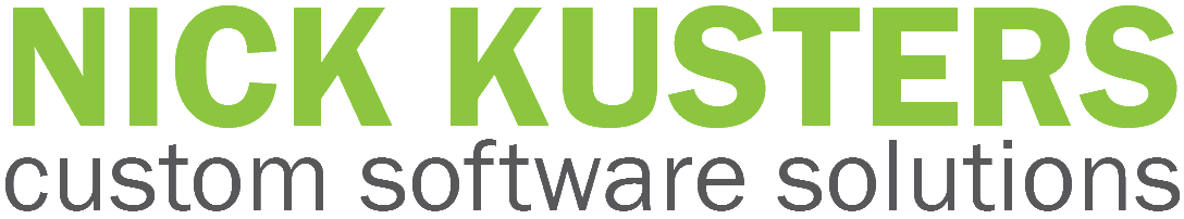 Nick Kusters Custom Software Solutions (NKCSS) Logo (text only)